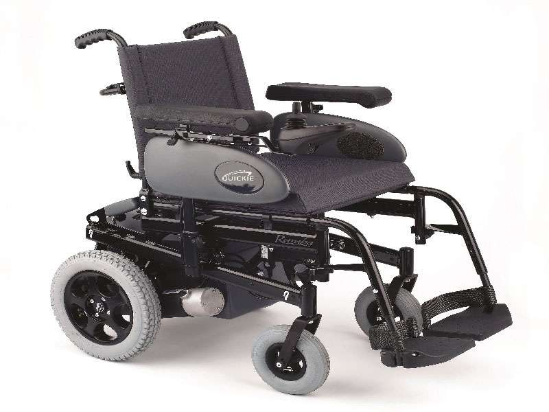 Electric Wheelchair with Left /Right Joystick